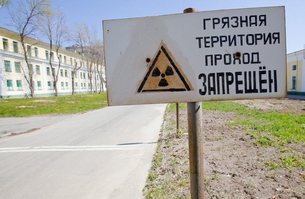 Greenpeace palub kontrollida võimaliku radiatsiooniavarii varjamist Venemaal