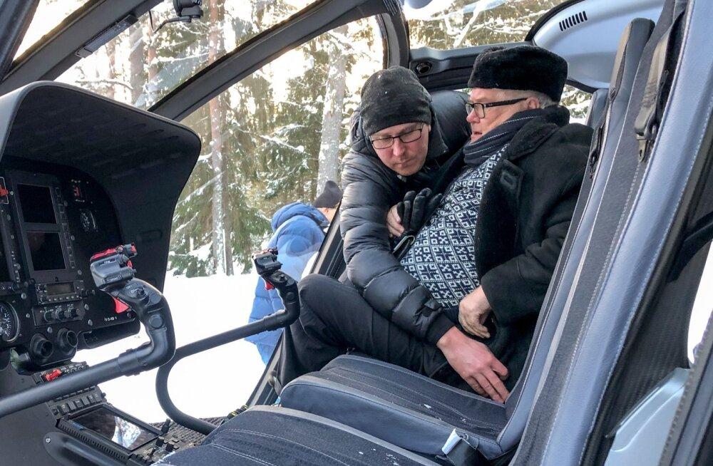 Edgar Savisaar lendab Hundisilmalt ära 30.01.2019