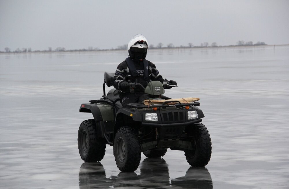 Piirivalve patrull Pihkva järvel