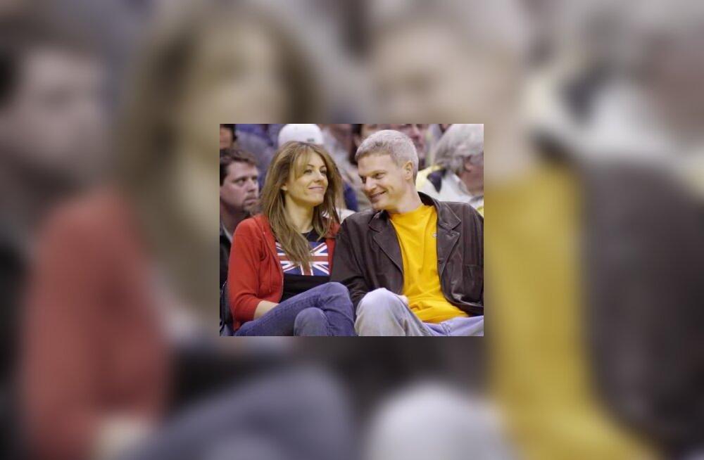 Elizabeth Hurley ja Stephen Bing