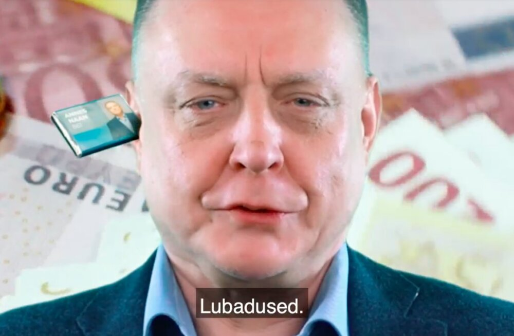 VIDEO | Lubadused, lubadused! Koomik Mattias Naan valmistas enda isale valimisreklaame naeruvääristava valimisreklaami