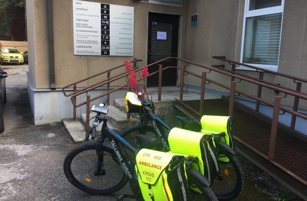 В Пыхья-Таллинне агрессивный клиент напал на соцработников