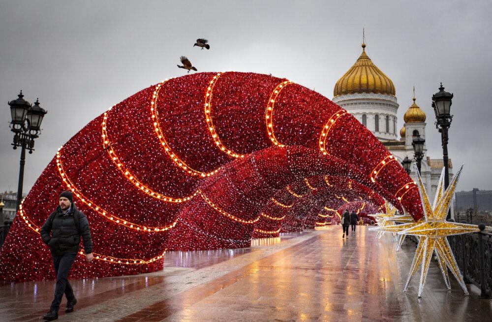 Москва потратит на празднование Нового года более 1,7 миллиарда рублей