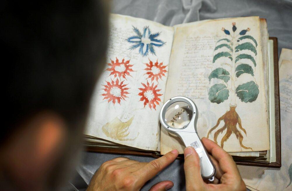 Salapärane Voynichi käsikiri on heebreakeelne, arvavad seda tehisintellekti abil analüüsinud teadlased