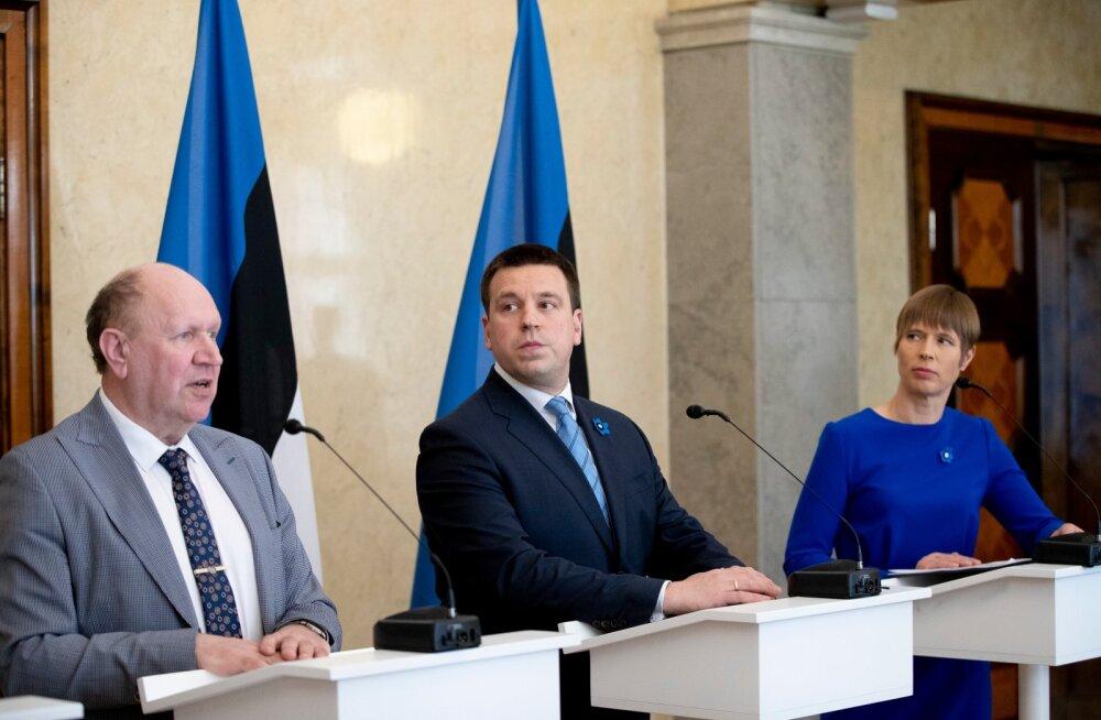 Kersti Kaljulaid: Helmed ründasid Eesti demokraatiat ja julgeolekut. Inimlikult on mul kurb ja piinlik