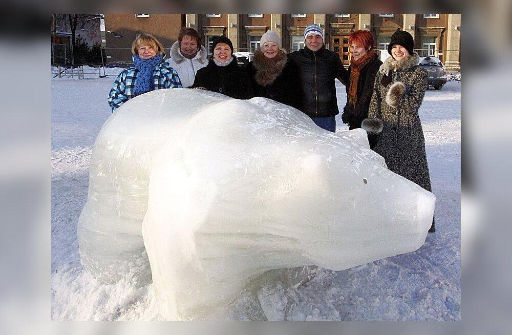 ФОТО: Йыхвиский медведь зажил самостоятельной жизнью
