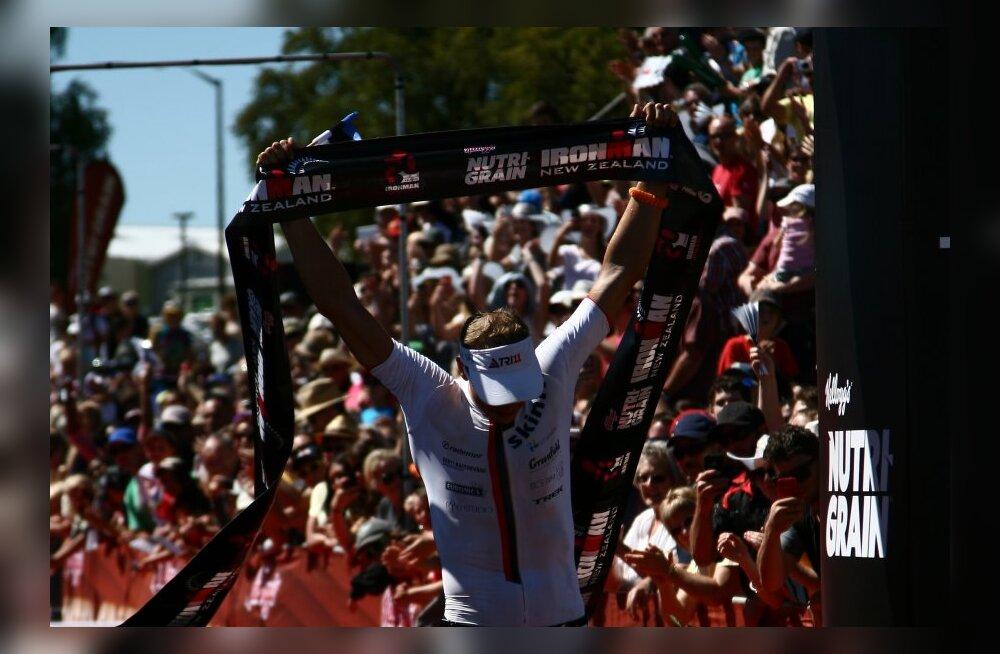 Marko Albert võitis Uus-Meremaal karjääri esimese Ironmani!