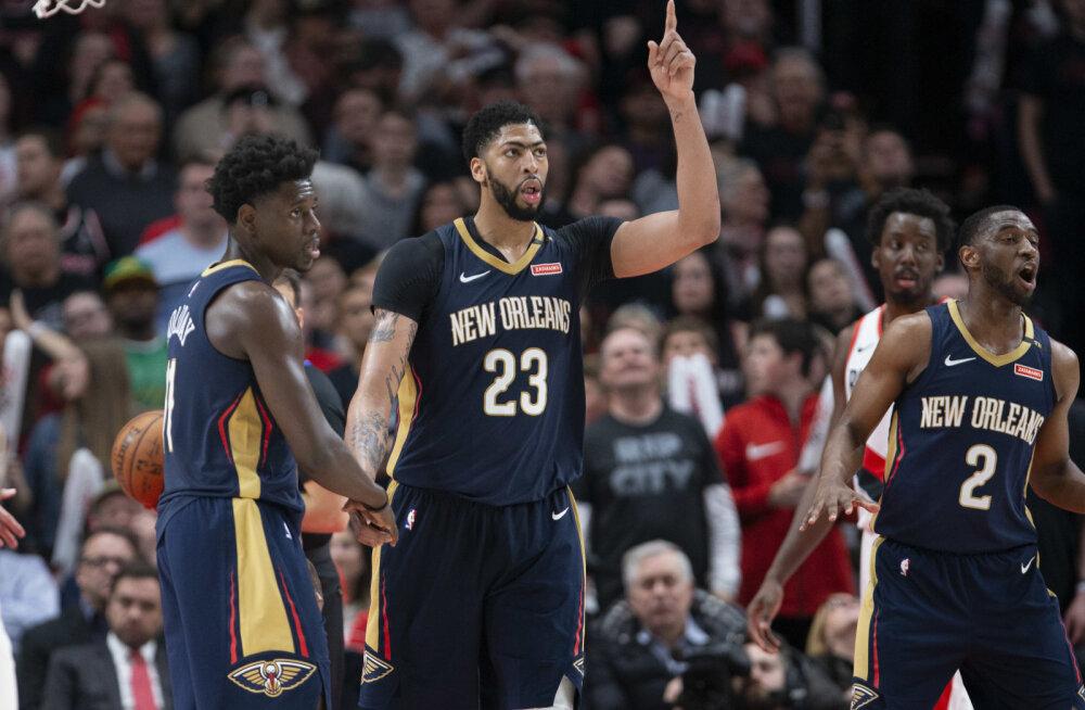 VIDEO | NBA play-off'id algasid: noor Sixers purustas Miami, Pelicans võttis võõrsil magusa võidu