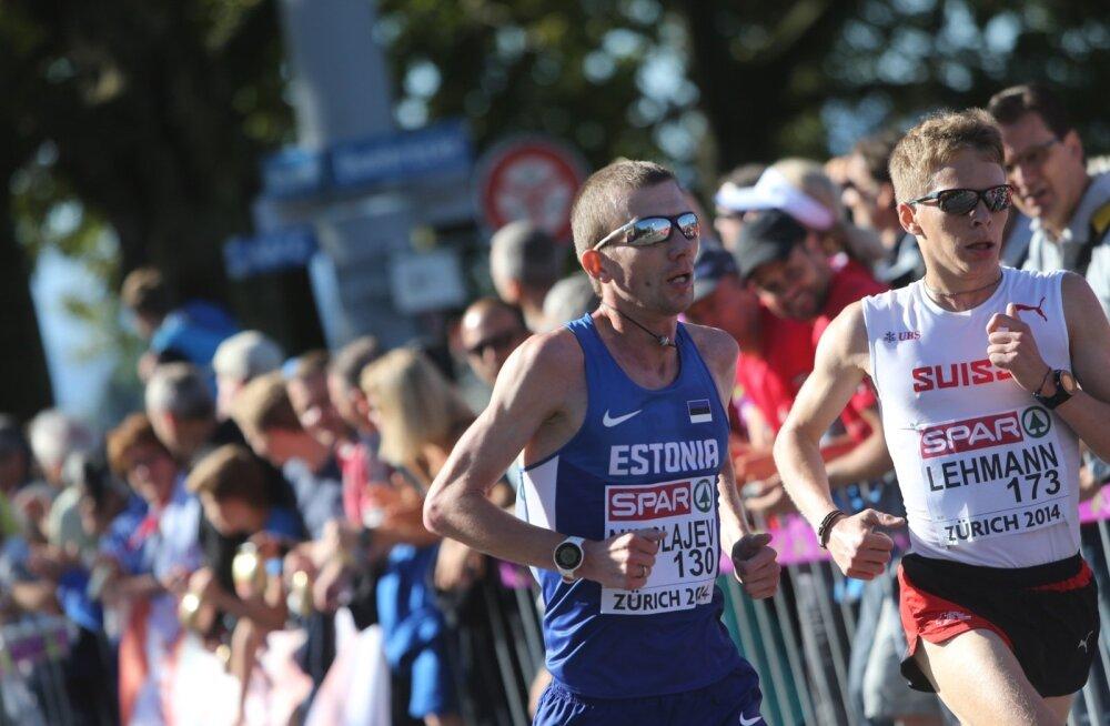 Zürichi EM-i meeste maraton