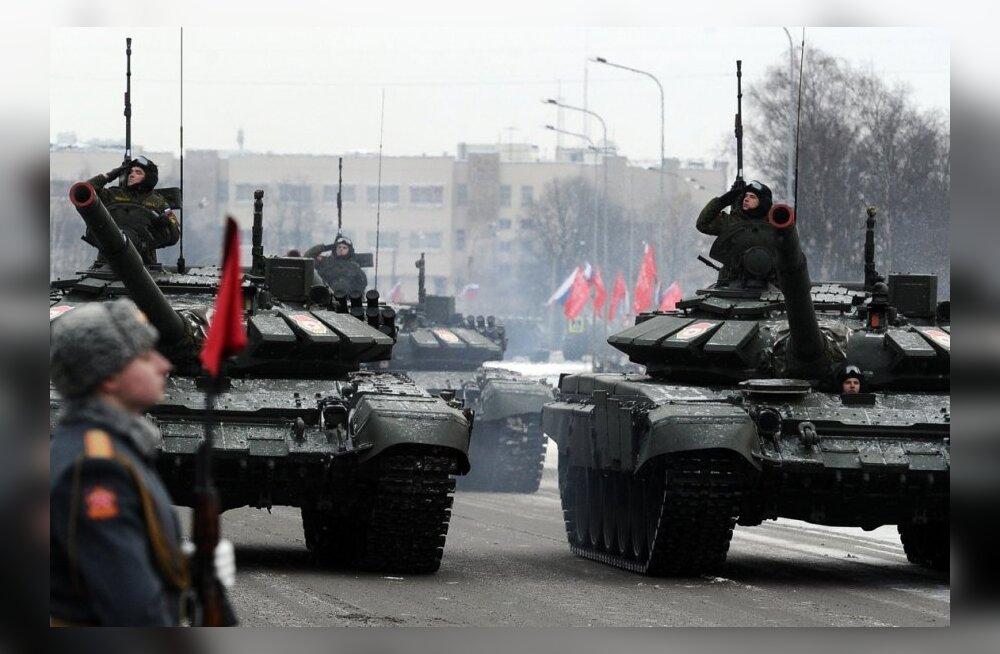 Putini korraldusel anti etteteatamata häire Lääne ja Kesksõjaväeringkonna vägedele