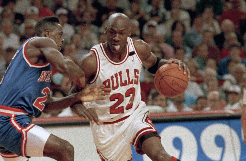 """""""Hea mäng, Mike!"""" Michael Jordan mõtles motivatsiooni leidmiseks välja vestlusi, mida polnud tegelikult olemas"""