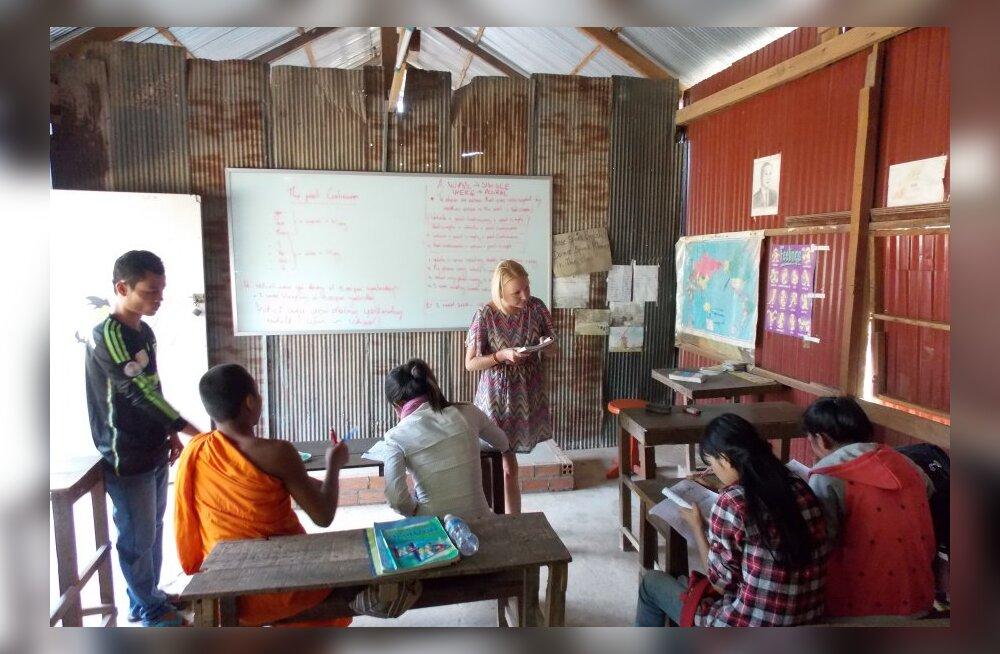 Reisikiri Kambodžast, 21. osa: meie esimene koolipäev