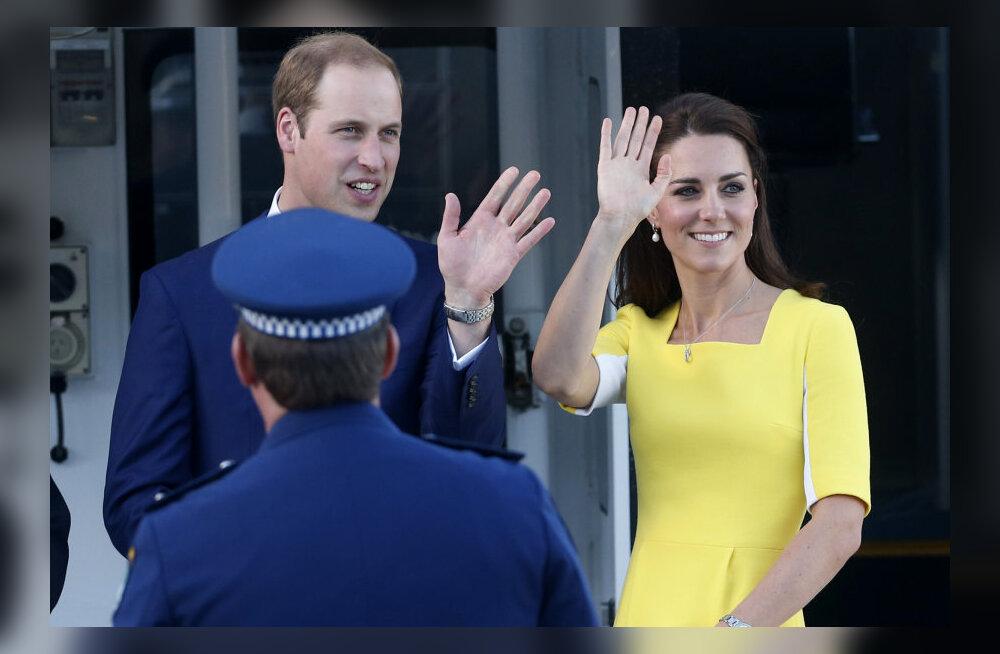 ФОТО: Кейт Миддлтон прибыла в Сидней в элегантном желтом платье