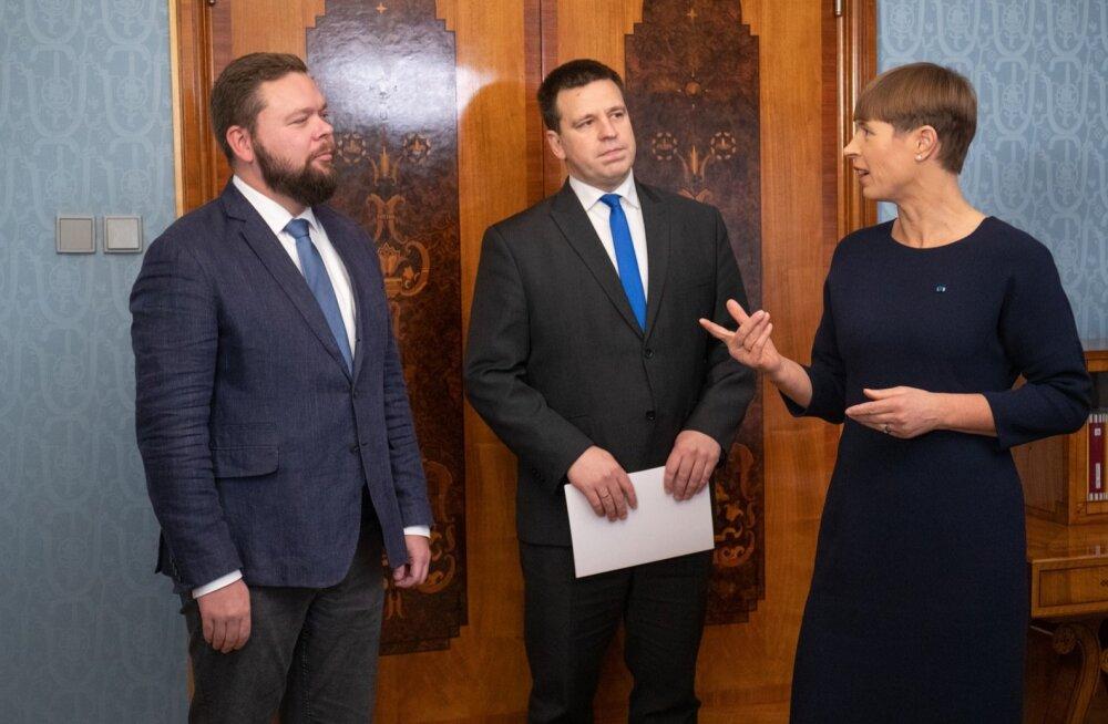 President nimetas ametisse uue väliskaubandus- ja IT-ministri Kaimar Karu