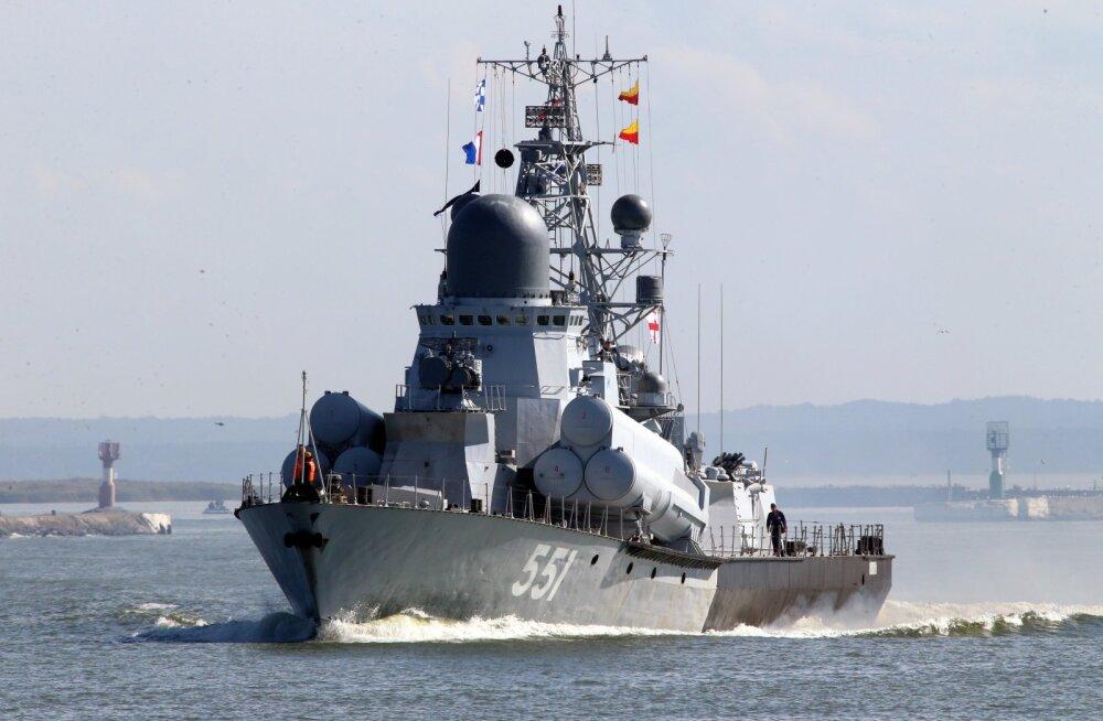 Россия выведет 10 тысяч военных и полсотни кораблей на учения в Балтийском море