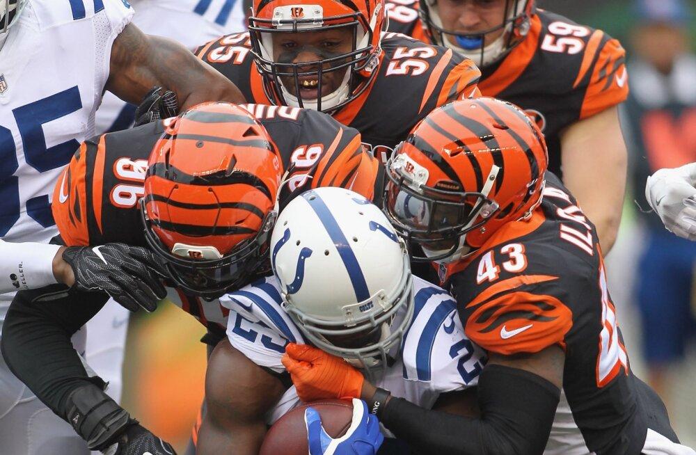 Hunt ja Colts leidsid võimaluse kaotada