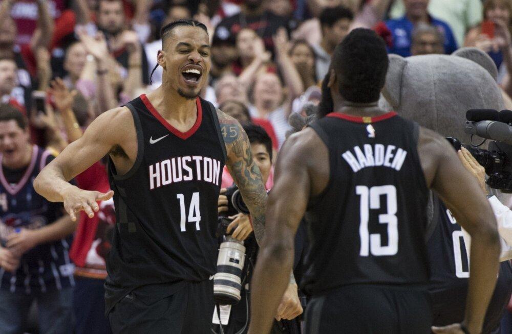 VIDEO | Rocketsi viis järjekordsele võidule viimase sekundi kolmene