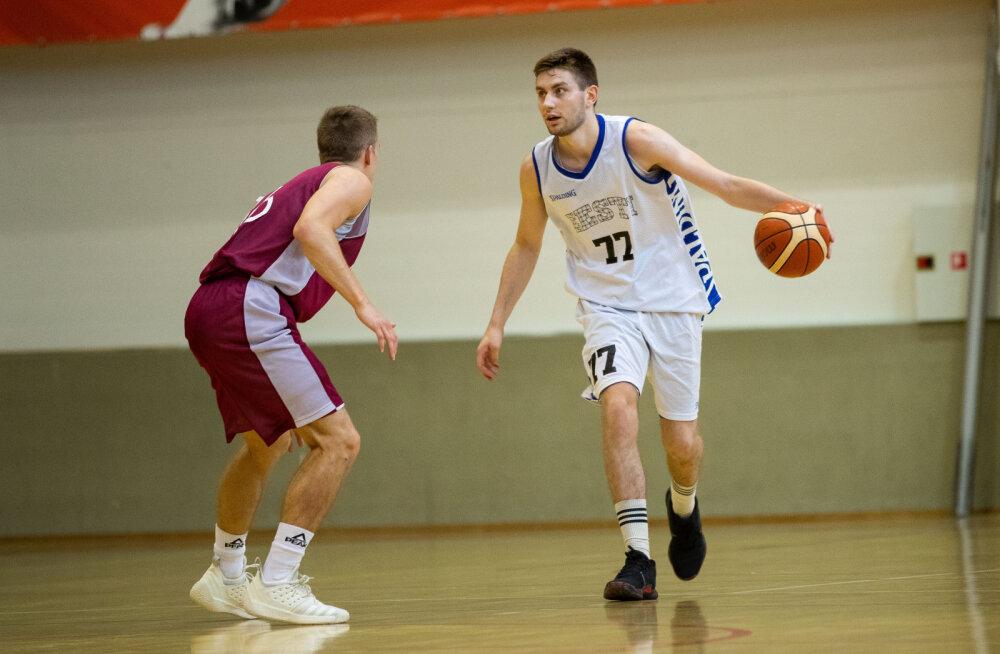 Kahe põhitegijata mänginud U20 korvpallikoondis jäi Lätile alla