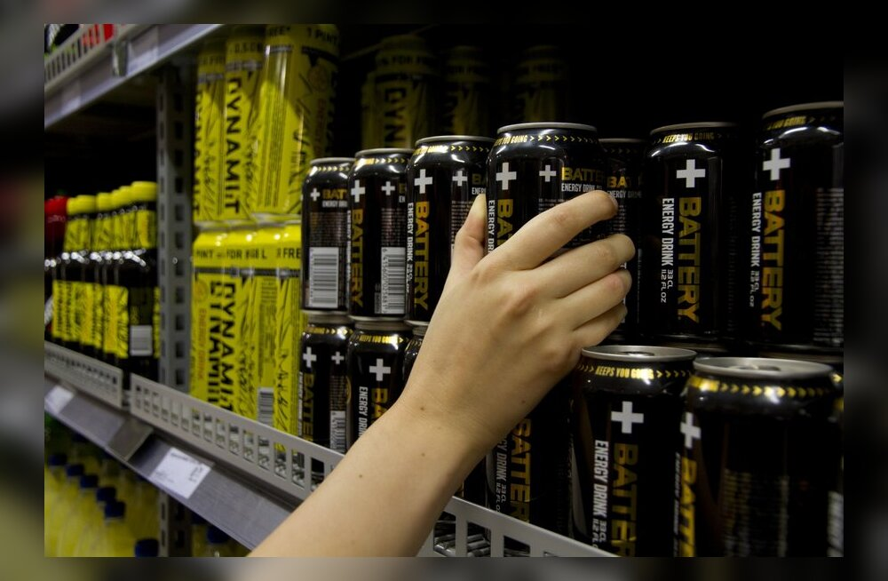 Uuring: energiajookide joomist alustatakse juba 10-15-aastaselt