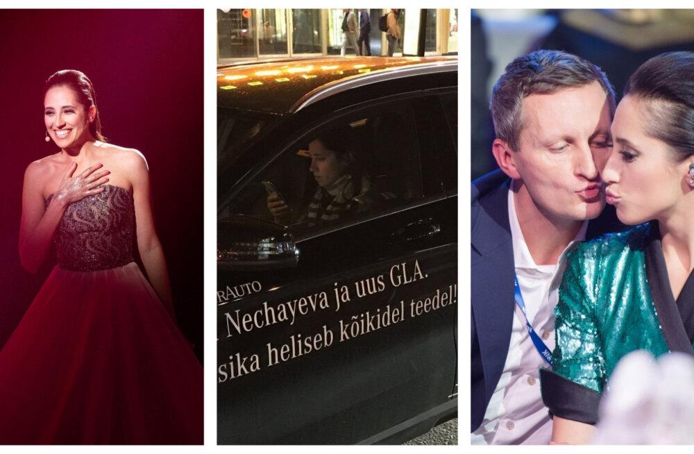 Elina aasta Eesti Laulu võitjana: kleididraama, liiklusreeglite rikkumine ja loomulikult David