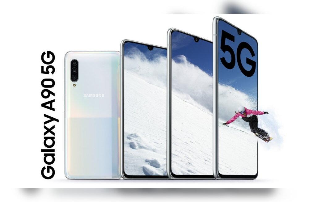 Samsung toob 5G ka esimesesse keskklassi telefoni