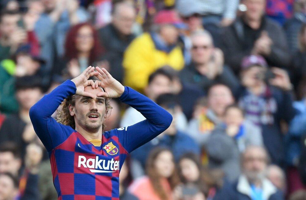 Barcelona tõusis Madridi Realiga ühele pulgale, kuid kaotas järjekordse põhimehe