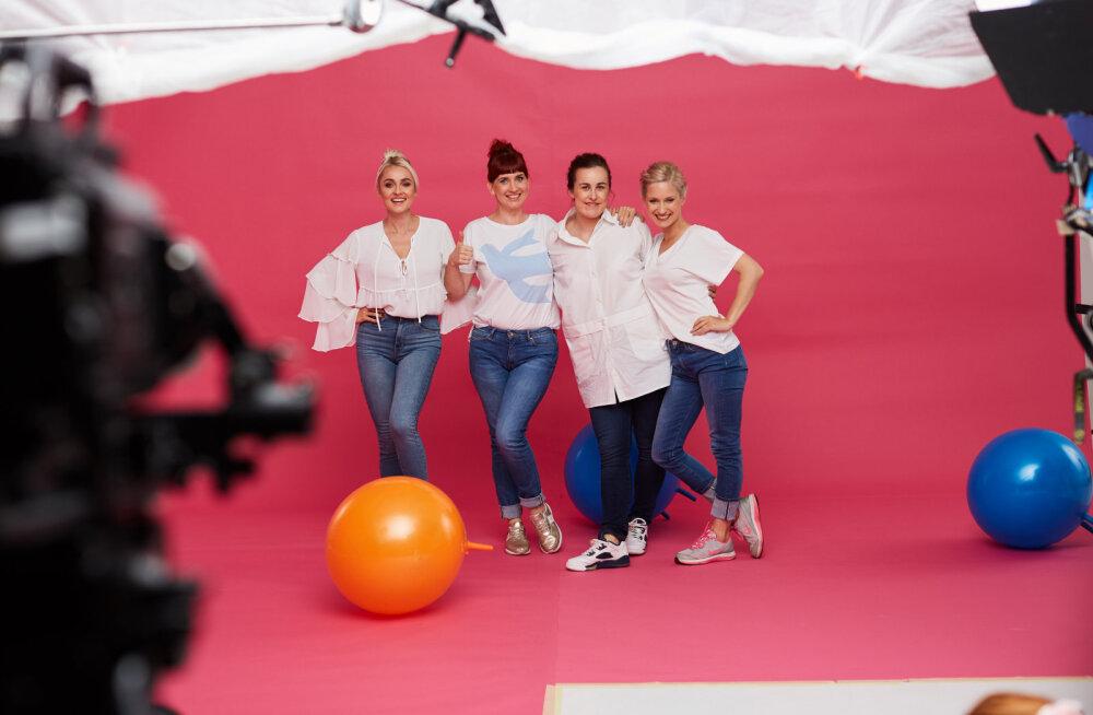 VIDEO | Padjaklubi tüdrukud paljastavad uue hooaja telgitagused!