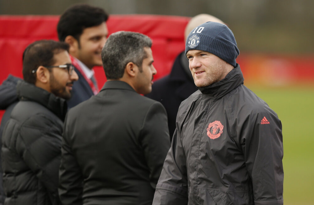 Ajaleht: Rooney lahkub järgmisel nädalal Manchester Unitedist