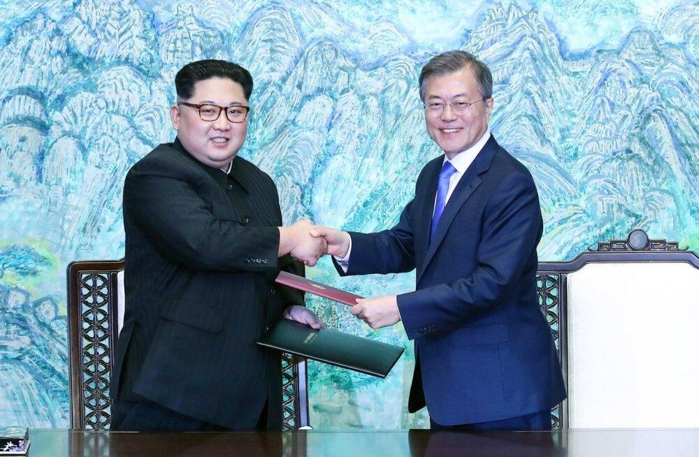 Põhja-Korea liigub esimese sammuna leppimise suunas Lõuna-Koreaga samasse ajavööndisse