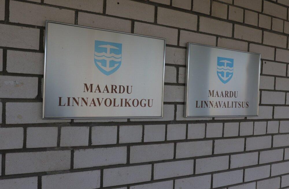 Городское собрание Маарду упорядочило работу комиссий