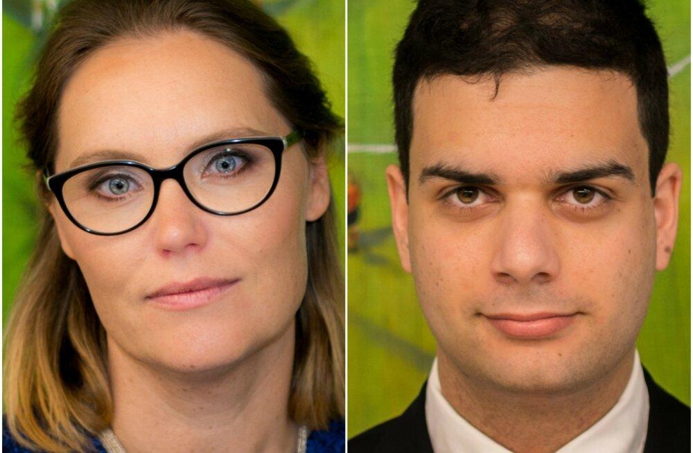 Karolina Ullman ja Eduardo Silva.