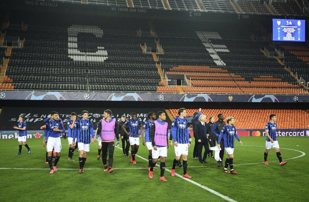 Atalanta jalgpallurid