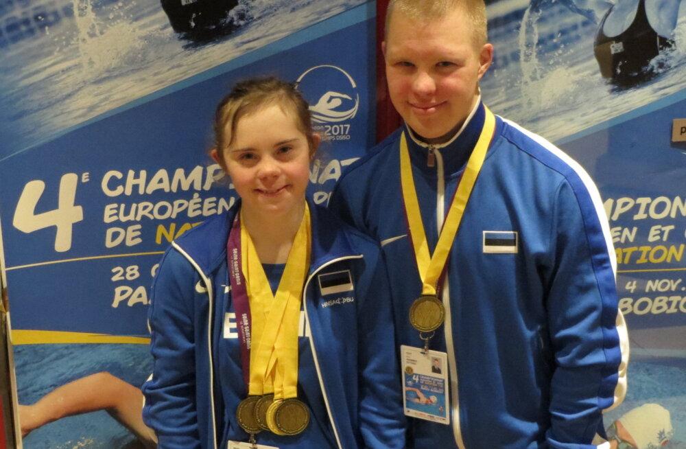 Maria Rein ja Eric Tött