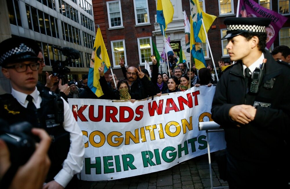 BRITAIN-PROTEST/KURDS