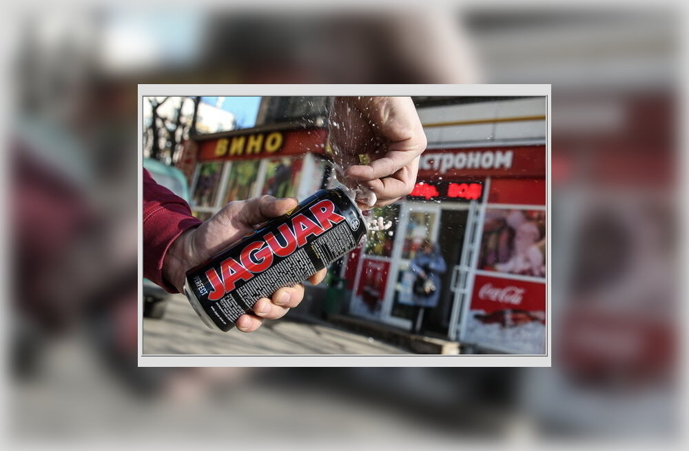 Moskva keelas maist alkoholiga energiajookide müügi