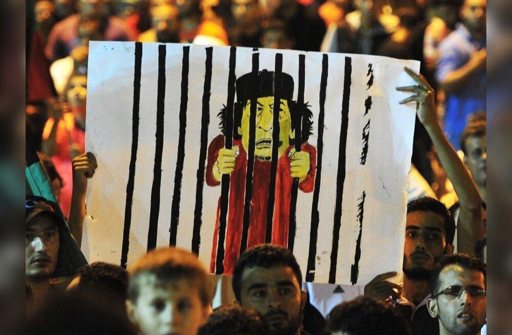 Gaddafi on kaotanud 90-95 protsenti territooriumist