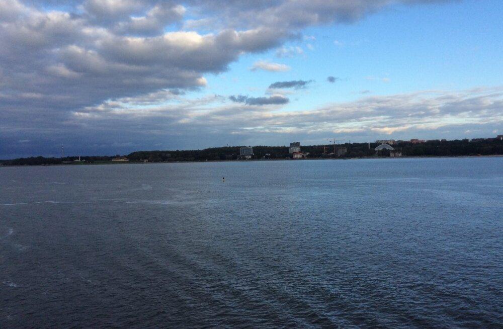 Läänemeri. Tallinna sadam.