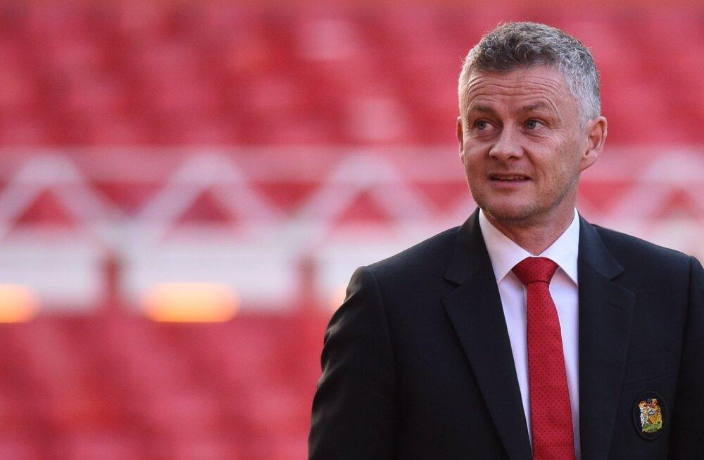 Ole Gunnar Solskjaer: eesmärk on Unitediga taas Premier League võita