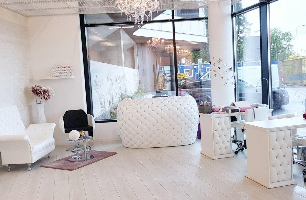 Tallinna ilusalongide luksuslik pärl aitab sul aastalõpupidudeks kauni väljanägemise saavutada