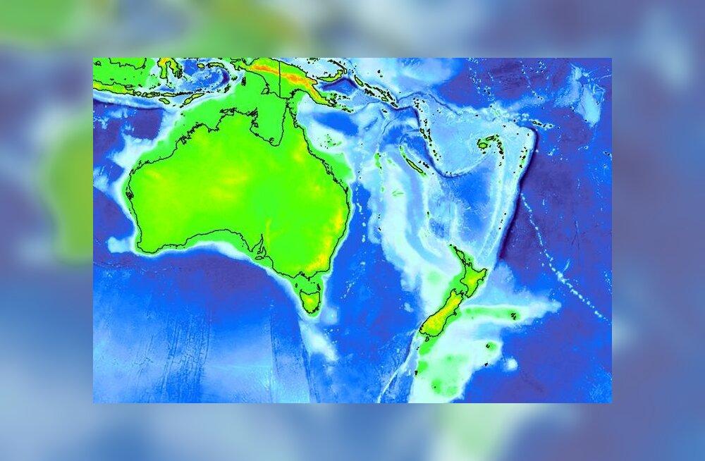Teadlaste suur avastus: Uus-Meremaa on senitunnustamata mandri veepealne osa