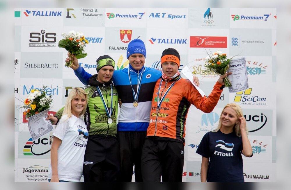 Eesti meistrivõistlused grupisõidus, U23 medalikolmik
