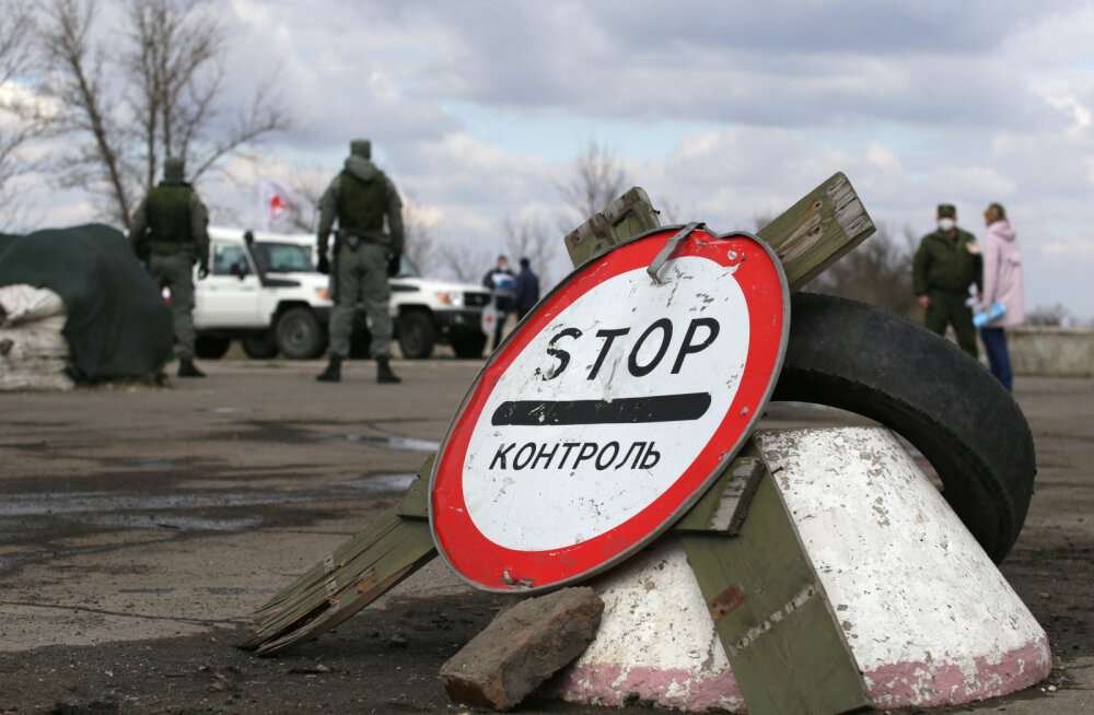 """""""Luganski rahvavabariik"""" teatas oma relvajõudude täielikku lahinguvalmidusse viimisest"""