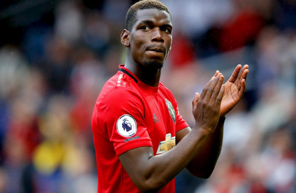 Ole Gunnar Solskjaer: Paul Pogba jätkab Manchesteris