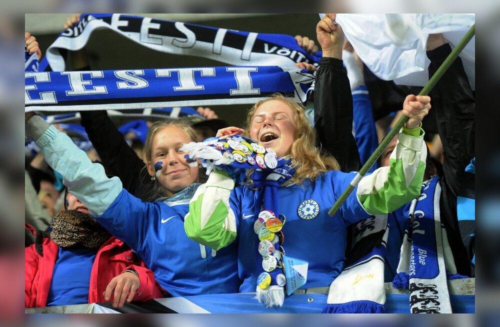 Eesti jalgpallikoondis tuli kaotusseisust välja ning alistas Omaani