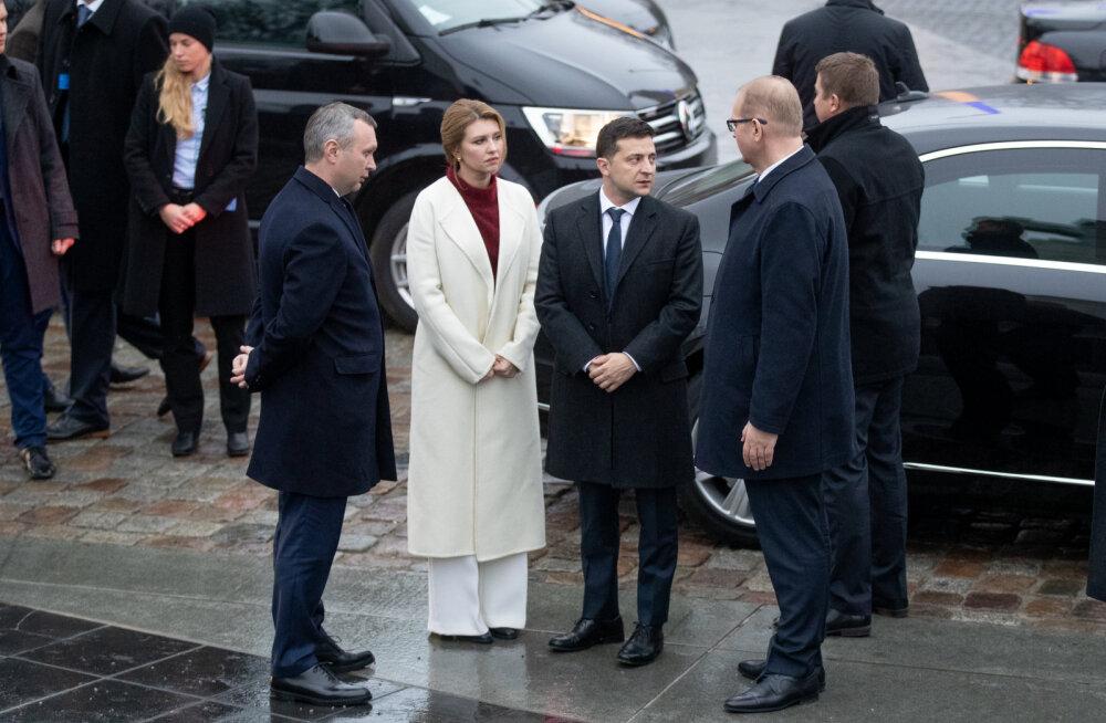 Эксклюзив JANA: Во что была одета первая леди Украины во время визита в Эстонию? Комментарии стилиста