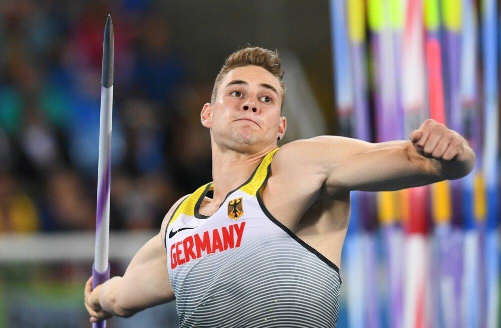 MM-i tiitlikaitsja Johannes Vetter on tänavu maadelnud vigastusega ja ta hooaja parim tulemus on siiani 85.27.