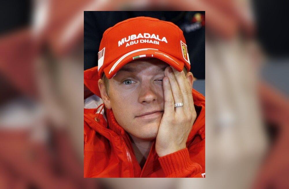 Kimi Räikkonen, Ferrari vormel 1 piloot