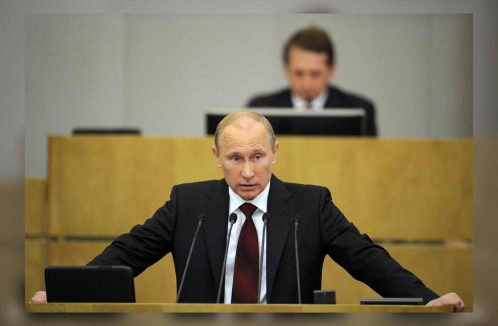 Putin nimetas NATO-t külma sõja igandiks