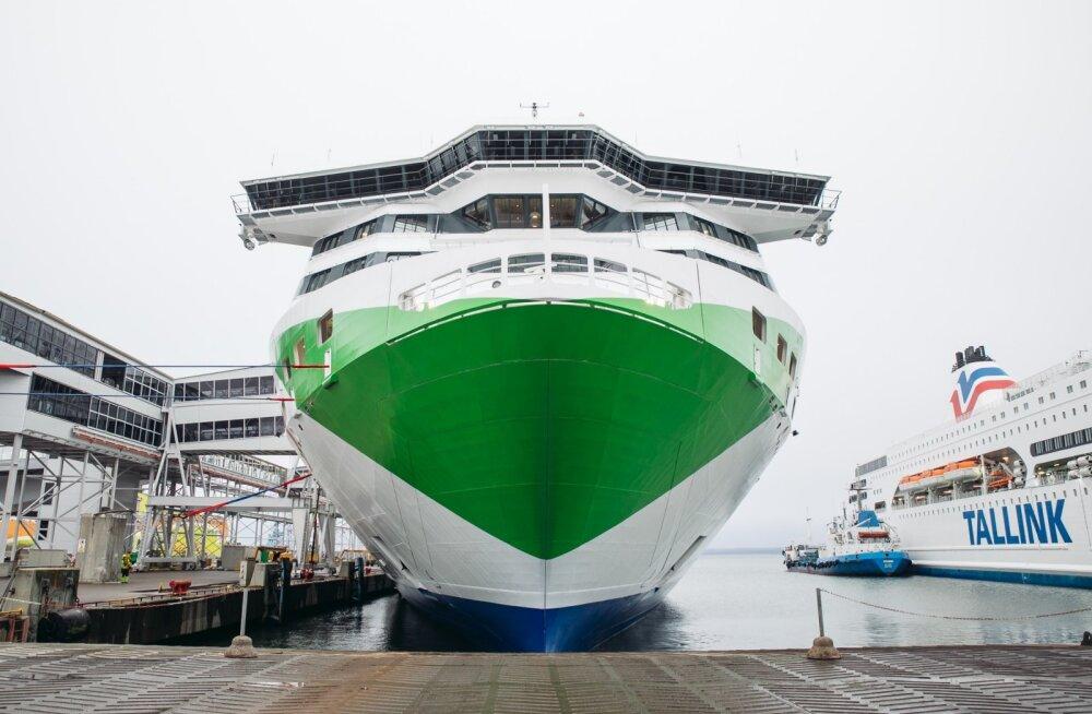 Tallink Megastari esimene väljumine.