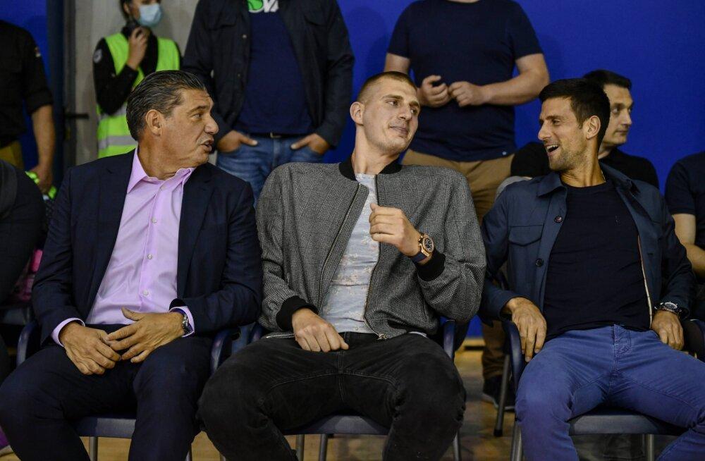 Järjekordne Djokoviciga seotud koroonajuhtum: NBA staarilt avastati koroonaviirus